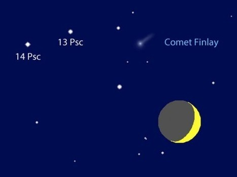 See a Rare Comet-Moon Conjunction Tonight - Universe Today | Space | Scoop.it