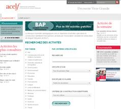 550 activités pédagogiques gratuites par l'Association canadienne d'éducation de langue française (ACELF) | | Ressources pour les TICE en primaire | Scoop.it