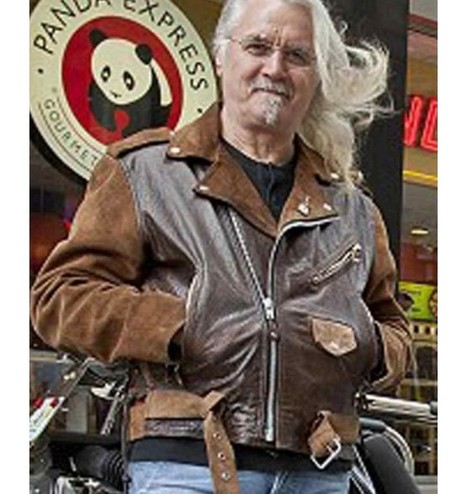 Billy Connolly Route 66 TV Series Biker Jacket | Famous TV Series Leather Jackets | Scoop.it