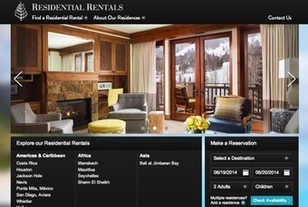 Four Seasons pushes amenities with Vacation Rentals Web site launch - Luxury Daily - Internet   Luxury   Scoop.it