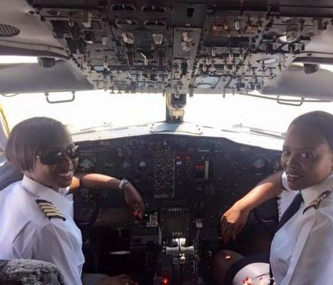 Air Zimbabwe Makes History With 1st All-Female Flight Crew | Community Village Daily | Scoop.it