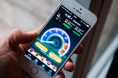 4G sur iPhone : prenez garde à l'application Speedtest! | Geeks | Scoop.it