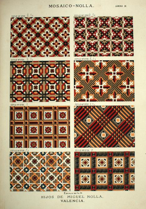 Museo Nacional de Cerámica y Artes Suntuarias González Martí   El legado Nolla 1865-2015. 150 años de la fábrica de mosaicos   design exhibitions   Scoop.it