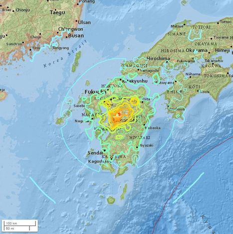 M7.0 - 1km WSW of Kumamoto-shi, Japan | Japan Tsunami | Scoop.it