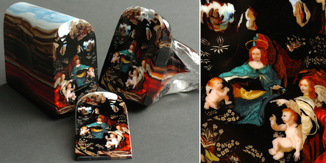 Sliced Glass 'Paintings' and Portraits by Loren Stump | Archivance - Miscellanées | Scoop.it