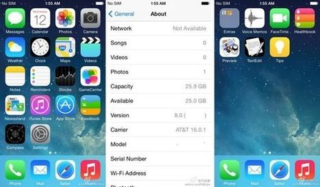 ¿Incorporará iOS 8 realidad aumentada? Filtradas las primeras imágenes del nuevo SO de Apple | REALIDAD AUMENTADA Y ENSEÑANZA 3.0 - AUGMENTED REALITY AND TEACHING 3.0 | Scoop.it