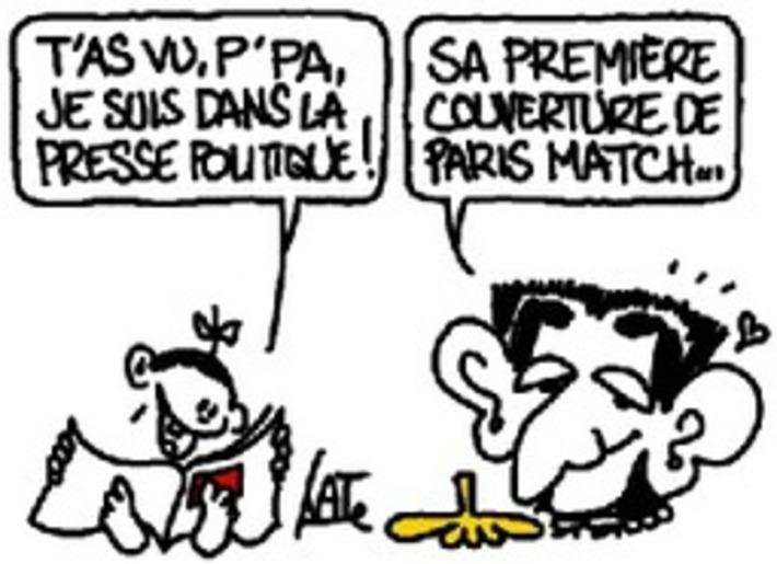 Du rose layette dans la presse politique | Baie d'humour | Scoop.it