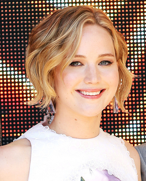 Short Curly Celebrity Hairstyles - Jennifer Lawrence | Living Life As Well As We Can | Scoop.it