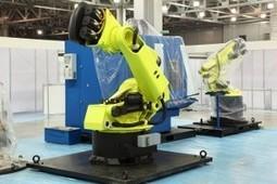 Robotics in the Manufacturing Industry - Cut Form Fab Metal | Robotics in Manufacturing Today | Scoop.it