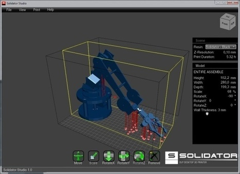 3ders.org - Large build volume Solidator DLP desktop 3D printer unveiled on Kickstarter   3D Printer News & 3D Printing News   3D Printing World   Scoop.it