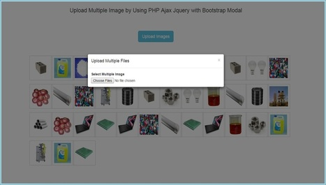 Upload Multiple Images by Using PHP Ajax Jquery with Bootstrap Modal | Povonte Blog | Scoop.it