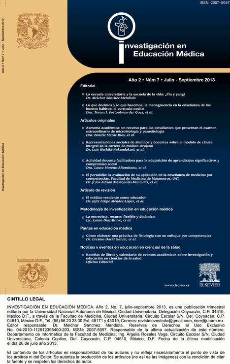 Revista de Investigación en Educación Médica   Salud Publica   Scoop.it
