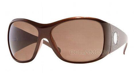 Versace Sunglasses 4133B 724/73 TOP BROWN / PEACH BROWN   Online Shopping   Scoop.it