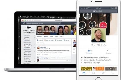 Facebook lance sa version dédiée aux entreprises | Actualité Social Media : blogs & réseaux sociaux | Scoop.it