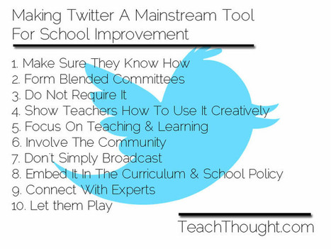 Making Twitter A Mainstream Tool For School Improvement | Family Learning | Scoop.it