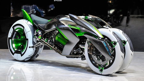 Kawasaki built a time machine and stole a bike from the future | Art and education | Scoop.it