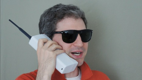 You've Come a Long Way, Baby! The '80s Brick Phone, Now With Bluetooth | A Cultural History of Advertising | Scoop.it
