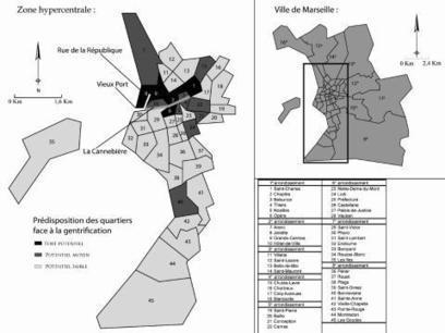 Un cas aporétique de gentrification: la ville de Marseille | Géographie : les dernières nouvelles de la toile. | Scoop.it