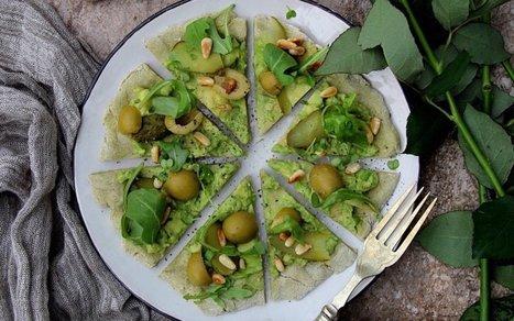 Avocado Pizza [Vegan, Gluten-Free] | Vegan Food | Scoop.it