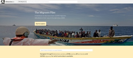 The migrant files | Journalisme graphique | Scoop.it