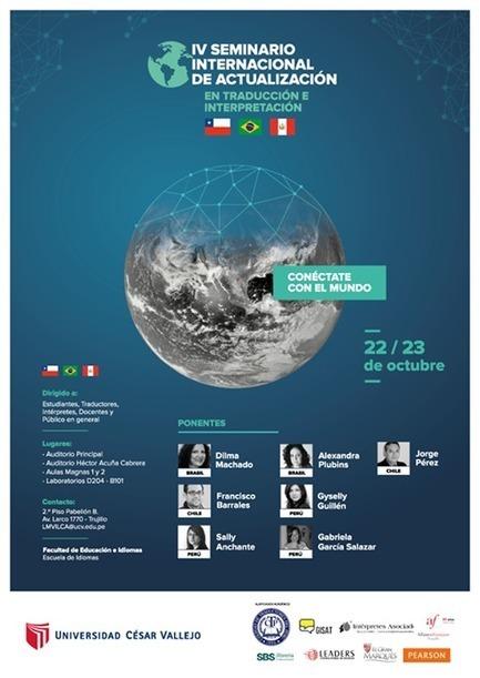 2015-10-22/23 Trujillo, IV Seminario internacional de actualización en traducción e interpretación. | Traducción en Perú: eventos, noticias, talleres | Scoop.it