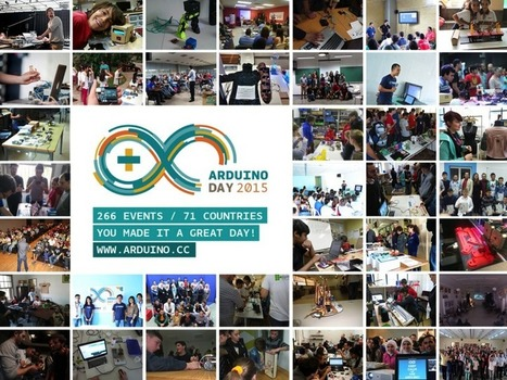 Memories from Arduino Day! Download the Poster #Arduino #TeamArduinoCC | Raspberry Pi | Scoop.it