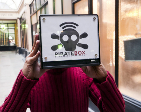 PirateBox, mode d'emploi | Silicon Maniacs | PirateBox et OpenData | Scoop.it