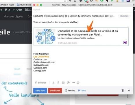 MixMax. Veille et suivi en temps réel de vos mails | Les outils de la veille | Les outils du Web 2.0 | Scoop.it