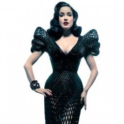 3D-printed dress for Dita Von Teese | Made Different | Scoop.it