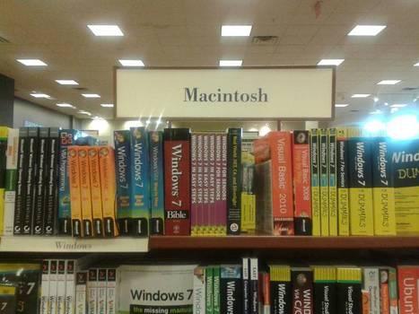 Macintosh books stand | fun for geeks | Scoop.it