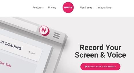 Hyfy. Capture et partage d'écran simplifiés - Les Outils Collaboratifs | Les outils du Web 2.0 | Scoop.it
