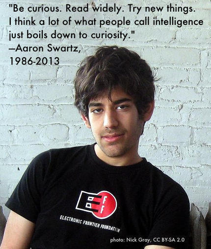 In the Wake of Aaron Swartz's Death, Let's Fix Draconian Computer Crime Law | Education & Numérique | Scoop.it
