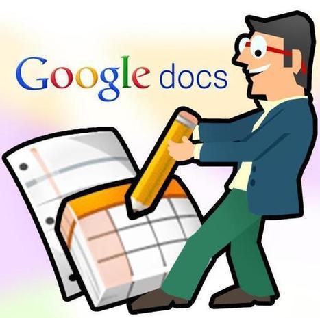10 cosas que todo profesor debería saber cómo hacer utilizando Google Docs - Ipaeducacion | EDUDIARI 2.0 DE jluisbloc | Scoop.it