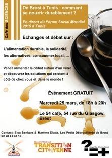café-débat sur l'alimentation durable le 25 mars à Brest - Bretagne Créative | Coopération, libre et innovation sociale ouverte | Scoop.it