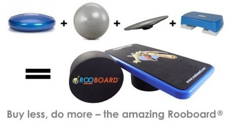 Rooboard Balance Board and Core Trainer - PhysioSupplies Blog | Rehabilitation and Physiotherapy | Scoop.it