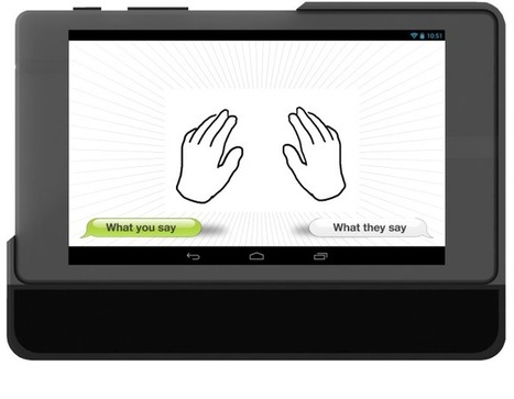 A Tablet application to translate sign language   Digital Trends   Scoop.it