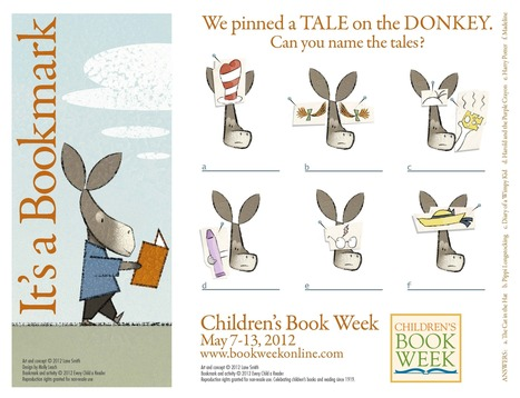 Children's Book Week 2012 Bookmark by Lane Smith! | Book Week Online | why not try in the library? | Scoop.it