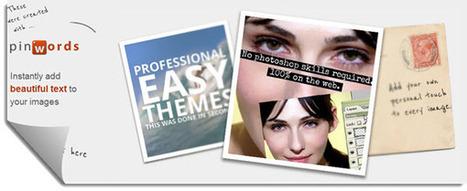 4 aplicaciones web para crear imágenes con frases para compartir | Cecilia Arrieta Mendizábal | Scoop.it