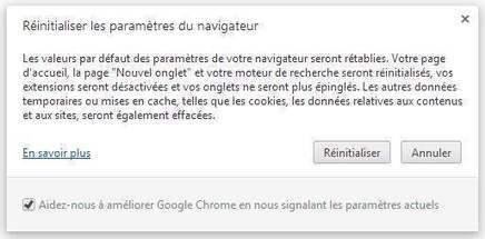 Réinitialiser facilement Google Chrome | Les Infos de Ballajack | François MAGNAN  Formateur Consultant | Scoop.it