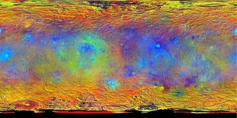 Dawn team shares colorful new maps and surprising observations - Astronomy Magazine | Astronomy News | Scoop.it