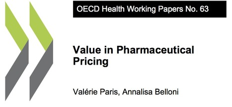 Value in Pharmaceutical Pricing | OECD iLibrary | New pharma | Scoop.it
