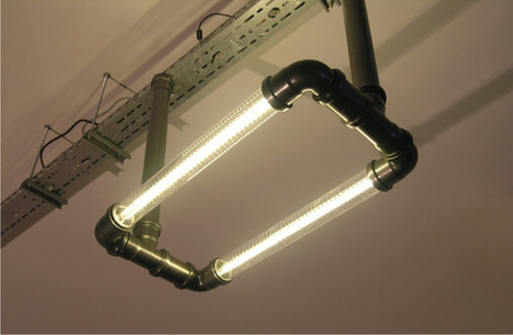 Atomic Clear Tube Lighting: Turn Your Pad into Your Steampunk HQ | Steampunkerie | Scoop.it