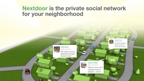 Next Door : le Facebook du voisinage « InternetActu.net | Mobilités intelligentes et données | Scoop.it