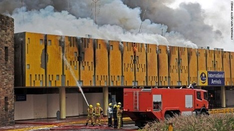 Massive fire in international terminal shuts down Nairobi airport | Business | Scoop.it