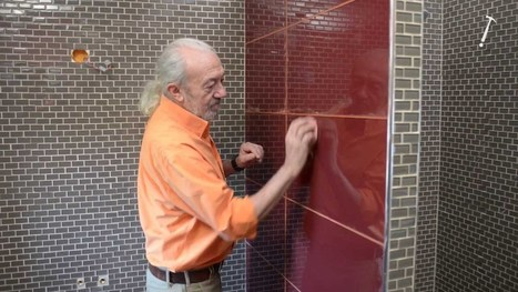 Pose de carrelage en verre dans une salle de bains - Bricolage avec Robert - Buzzlik - بازليك | Do it yourself (www.bricolons.ch) | Scoop.it