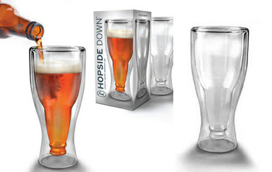 Dual Illusions: Beer Bottle & Wine Glass Sets Trick the Eye | Designs & Ideas on Dornob | The brain and illusions | Scoop.it