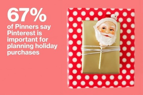 Planning Your Christmas Marketing with Pinterest [Infographic] | Pinterest tips & more | Scoop.it