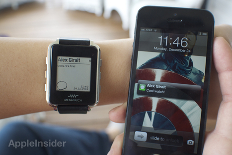 Best Buy to sell Metawatch iPhone-compatible smart watches nov. 3 | Design | Scoop.it