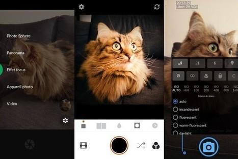 5 applications gratuites pour remplacer votre appareil photo sur Android et iPhone | Freewares | Scoop.it