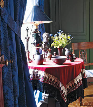 Fabric Draped Table's Dramatic Return | Home & Office Styling | Scoop.it